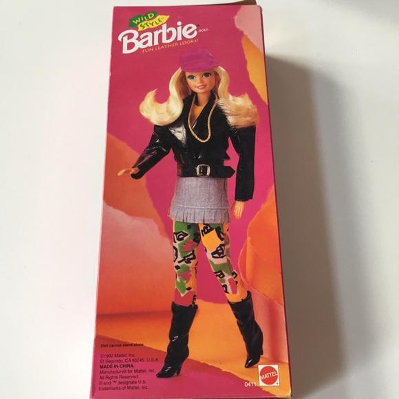1992 BARBIE wild style neon 90s leggings  Moto NEW
